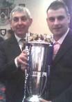 Rob McGeechan, with Ian McGeechan